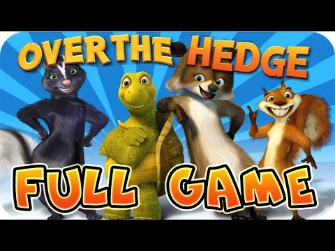 Over The Hedge FULL GAME Movie Longplay (PS2, GCN, XBOX, PC) [100% Objectives]