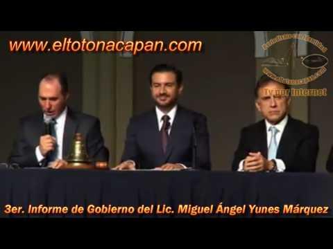 3er Informe de Gobierno del Lic Miguel Ángel Yunes Márquez