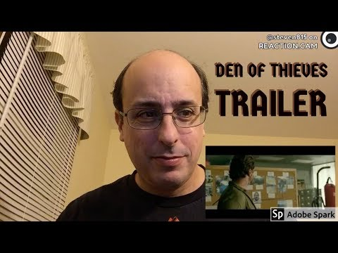 Den Of Thieves Trailer Reaction