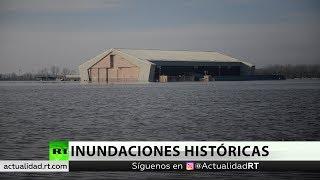 Varios muertos tras inundaciones récord en el centro de Estados Unidos