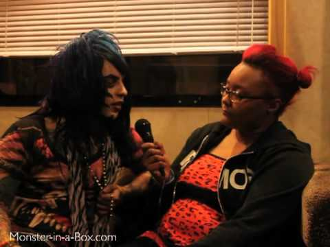 Interview with Dahvie Vanity from Blood On the Dance Floor