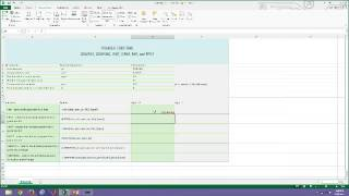 Microsoft Excel 2013 Financial Functions