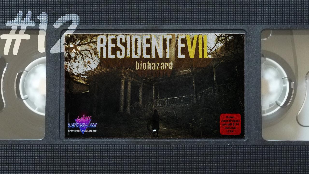 ICH WILL EIN SPIEL MIT DIR SPIELEN | Let's Play Resident Evil 7 #12