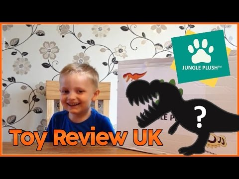 Jungle Plush T.Rex Dino Attack - Toy Review UK