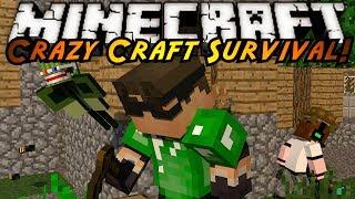 Minecraft Crazy Craft : THE QUEST FOR BIG BERTHA!