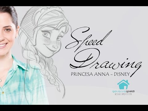 Speed Drawing Princesa Anna