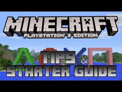 Minecraft PlayStation 3 Edition – Tips & Starter Guide