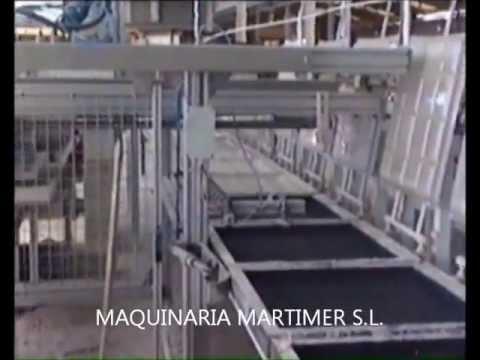 maquina de yeso - Maquina completa para la fabricación de placas de escayola desmontable de cualquier medida.