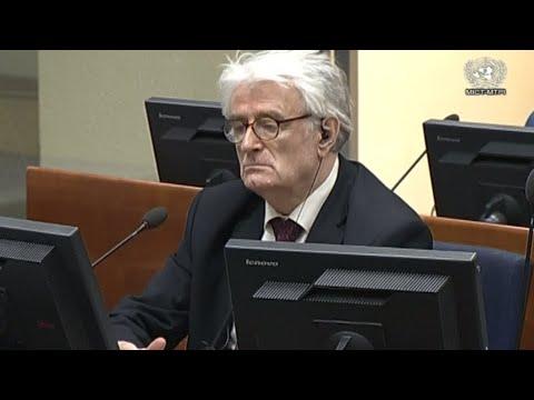 Völkermord von Srebrenica: Radovan Karadzic fordert A ...