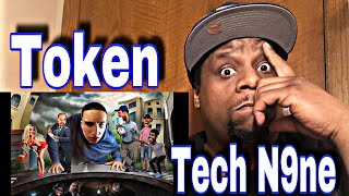Token - YouTube Rapper feat. Tech N9ne (Official Audio) Reaction