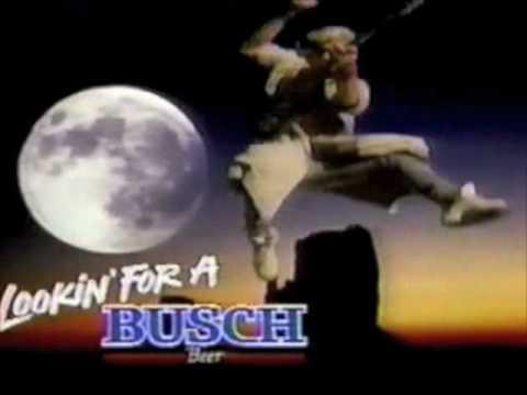 Busch beer commercial - 1990