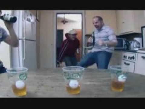 Carlsberg beer-pong - funny advert