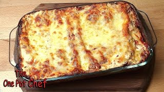 Beef And Vegetable Cannelloni - RECIPE
