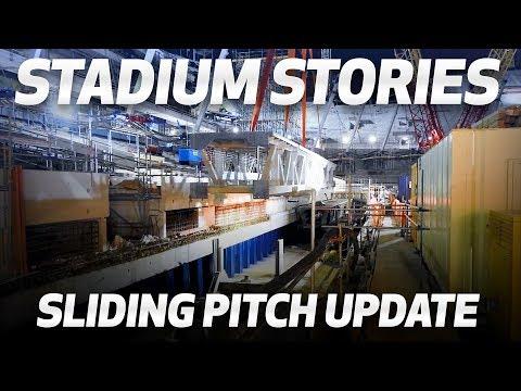Video: NEW STADIUM UPDATE | SLIDING PITCH