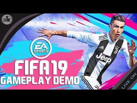 🔴 LIVE  FIFA 19 – TESTANDO A DEMO EM GAMEPLAY - Gameplay em Português  [PS4 Slim] (видео)