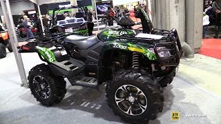 8. 2013 Arctic Cat Mudpro 1000 Recreational ATV - Walkaround - 2015 Salon Moto de Quebec