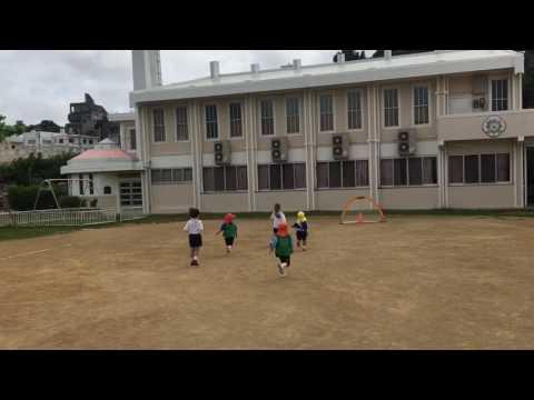沖縄 サッカースクール ディヴェルチール コザ聖母幼稚園