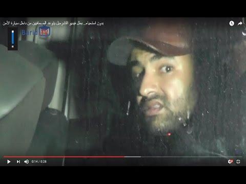 فيديو.. المجرم يتوعد المصورين أثناء إعادة تمثيل الجريمة بحي السلامة