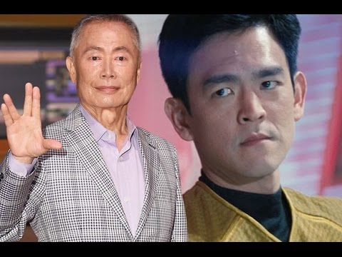 George Takei Not Happy with Gay Sulu in Star Trek Beyond - #CUPodcast (видео)