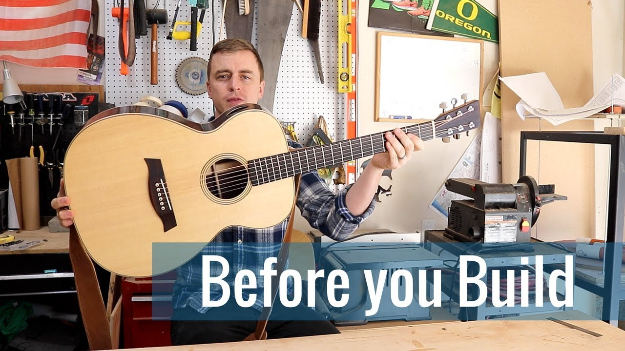 What to know before you build (Ep 1 – Acoustic Guitar Build)