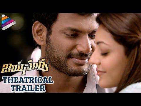 Jayasurya Movie Theatrical Trailer | Vishal | Kajal Aggarwal | Telugu Filmnagar