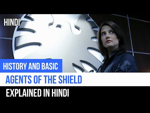 Agents of The S.H.I.E.L.D Explained in Hindi | Captain Blue Pirate |