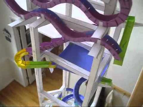 Build an Epic Paper Marble Run