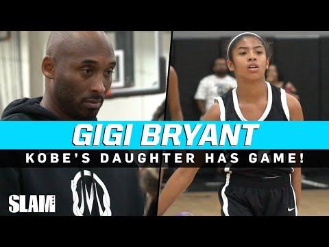MAMBA JUNIOR!? Kobe Bryant's daughter Gigi has GAME! 🐍