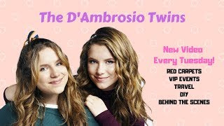 Welcome 2 Our Channel - D'Ambrosio Twins