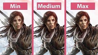 Nonton Rise Of The Tomb Raider     Pc Min Vs  Max Detailed Graphics Comparison  1440p Film Subtitle Indonesia Streaming Movie Download