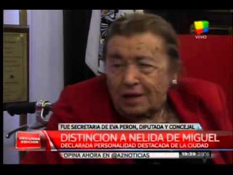 Nélida de Miguel: Personalidad Destacada de la Ciudad