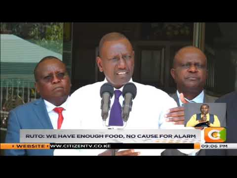 Government denies 10 Kenyans have died of hunger