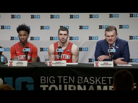 Illinois MBB Postgame Press Conference | BTT vs. Northwestern