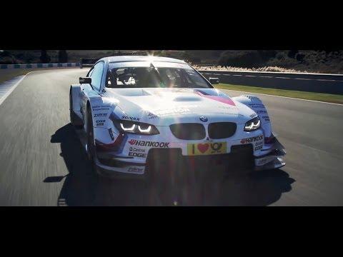BMW DTM M3 Tom Coronel test, Jerez 2013