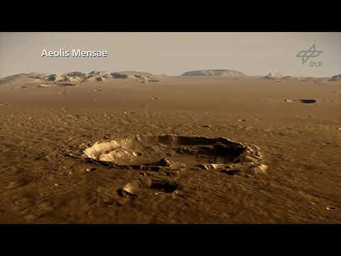 Fly Over NASA InSight's New Mars Home - Elysium Planitia_Best spacecraft videos of the week