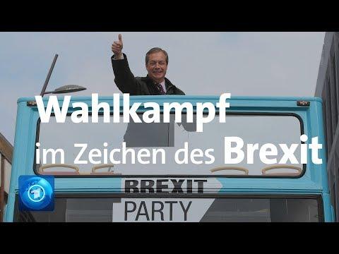 Großbritannien: Europa-Wahlkampf im Zeichen des Brexit