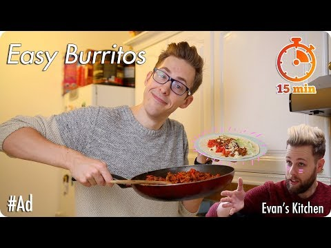 The World's Easiest Burrito! Feat.  Daniel J Layton #Ad