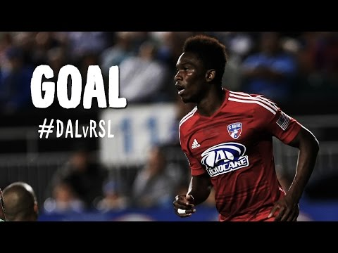 Video: GOAL: Fabian Castillo rips one to the far post | FC Dallas vs. Real Salt Lake
