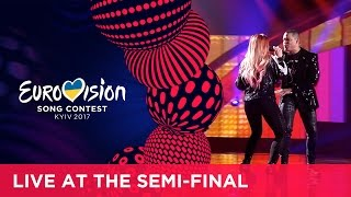 Valentina Monetta and Jimmie Wilson represented San Marino at the 2017 Eurovision Song Contest in Kyiv with the song Spirit of ...