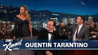 Video Quentin Tarantino on New Movie with Leonardo DiCaprio, Brad Pitt & Margot Robbie MP3, 3GP, MP4, WEBM, AVI, FLV Juli 2019