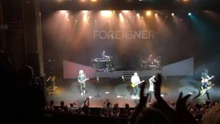 Foreigner - Juke Box Hero at  London Palladium, 07/06/2016
