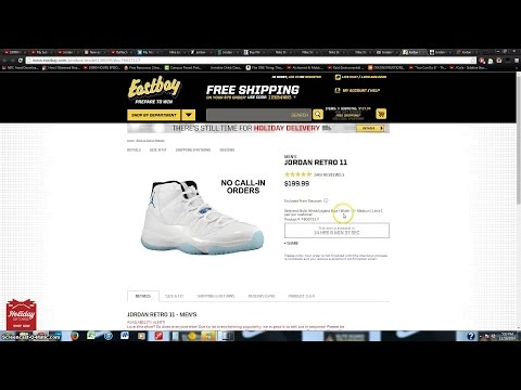 updated - Website: http://iwang82k.com Other Channel with FREE Nike bots, Foot Locker bots, Finish Line bots, and other sneaker bots that add shoes to cart very efficiently: http://youtube.com/kenections...