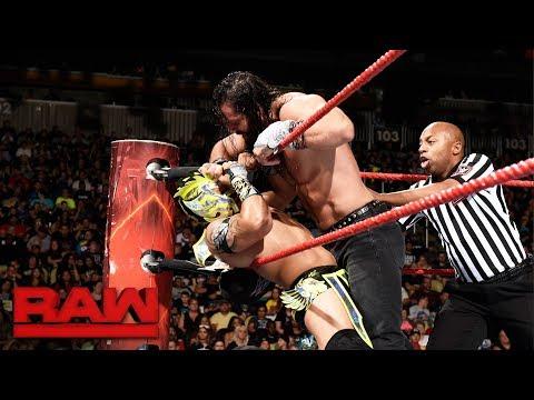 Kalisto vs. Elias: Raw, July 31, 2017