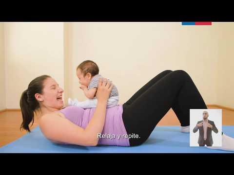 Ejercicios fisicos en el segundo trimestre del postparto