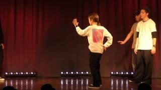 G-joint (だいき & Natsumi & ryo) vs GOTCHA (Legit & Muzzle) + リチャード – P.JOELA ~PROGRESS~ POP DANCE SHOWCASE exhibition battle