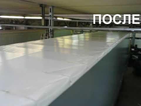 Тент на крышу фуры 13,6м пензатент
