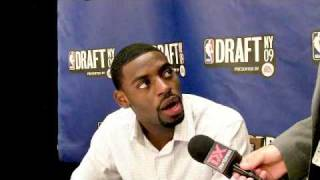 Tyreke Evans - 2009 NBA Draft Media Day Interview