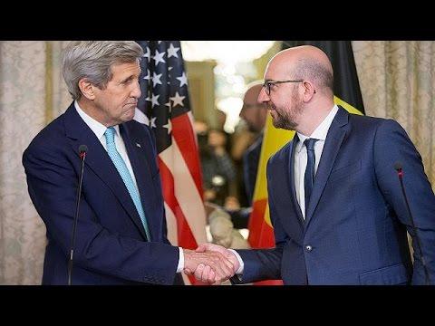 Βέλγιο: «Είμαι Βρυξελλιώτης», δηλώνει ο Τζον Κέρι