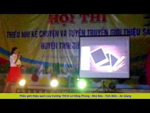 THCS Lê Hồng Phong : Giới thiệu sách huyện Tịnh Biên năm 2017 - Tôi kể em nghe chuyện Trường Sa