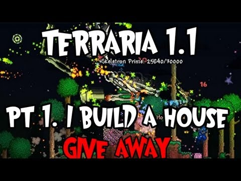 Terraria 1.1 - Can we get 200 likes? :D A new series, hope you guys enjoy! Buy terraria here: www.terrariaonline.com Follow me on facebook: http://on.fb.me/MayaTutors And o...